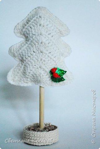 Снега у нас нет,настроения новогоднего тоже.Приходится поднимать его искусственно)) Веночки в свитерочках. фото 5