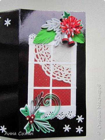 Доброго время суток дорогие Мастерицы!  В полном разгаре идёт подготовка подарков к Новому году. Начала с открыток. Приглашаю Вас посмотреть  на  результаты  моих трудов! Размер открыток 10Х15, 10Х19. Покажу каждую отдельно. фото 3
