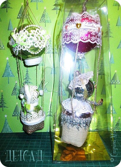 Во всех магазинах сейчас огромнейшее разнообразие новогодних украшений, а что если сделать их самим?!?  Очень уж мне понравились некоторые игрушки... Но, зачем тратиться, если всё необходимое можно найти в доме!!! фото 10