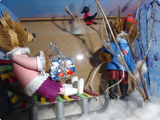 """Здравствуйте, дорогие мои! Приветствую всех и поздравляю с приближающимся Новым годом! К моим поздравлениям присоединяются вот эти очаровательные """"предновогодние"""" мишки, которые, я надеюсь, подарят вам заряд хорошего настроения!   фото 14"""
