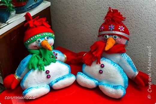 Мой снеговичок тюфячок фото 3