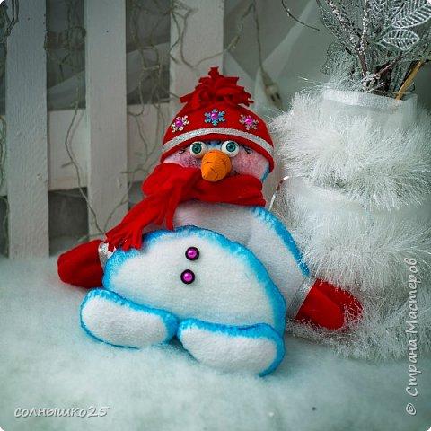 Мой снеговичок тюфячок фото 1