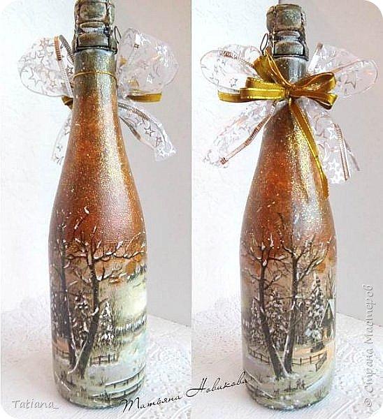 Новогодние бутылки фото 3
