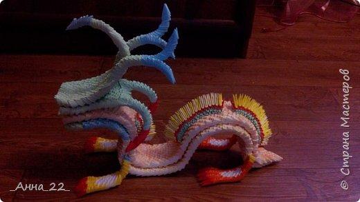 Дракон. Модульное оригами фото 1