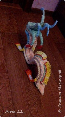 Дракон. Модульное оригами фото 3