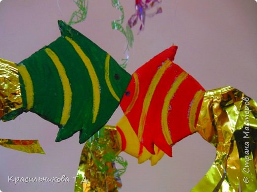 Воздушный аквариум фото 6