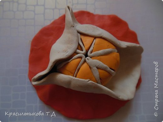 Фруктовый десерт из пластилина фото 7