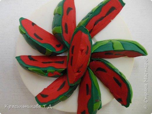 Фруктовый десерт из пластилина фото 12