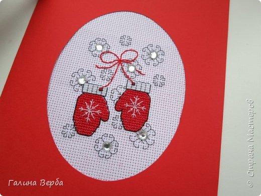 Всем доброго и удачного дня!  Вот такие подарки с пожеланиями тёплой зимы я приготовила к Новому году. Шаблон варежек для новогоднего декора я взяла здесь http://www.liveinternet.ru/users/5405691/post375287446/ фото 3
