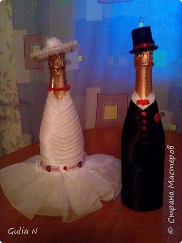 Жених и невеста для свадьбы в красных тонах фото 1