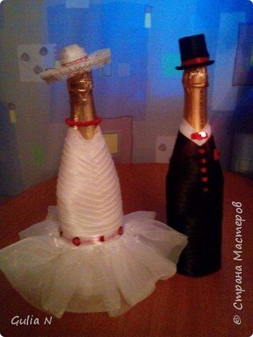 Жених и невеста для свадьбы в красных тонах фото 4