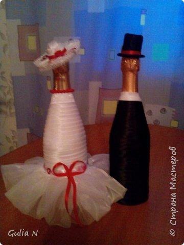 Жених и невеста для свадьбы в красных тонах фото 2
