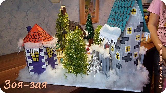 """Поделка в детский сад на тему : """" Зима """"  фото 23"""