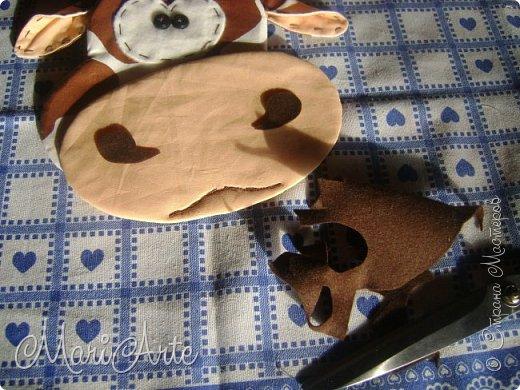 Мастер-класс Поделка изделие Шитьё Зоопарк на кухне М К + выкройки Нитки Пуговицы Сутаж тесьма шнур Ткань Фетр фото 38