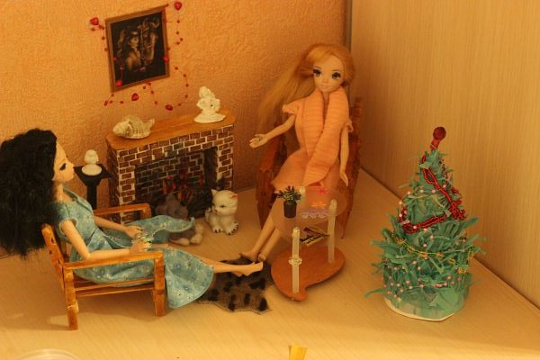 Соня Лиде в подарок на Новый год заказала камин. фото 10