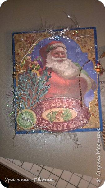 Новогодняя коробочка для маленького подарка. фото 8
