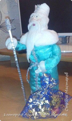 Дед мороз поздравляет Вас с Наступающим Новым Годом! Желает вам счастья, здоровья, креативных идей. фото 3