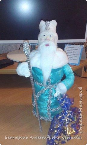 Дед мороз поздравляет Вас с Наступающим Новым Годом! Желает вам счастья, здоровья, креативных идей. фото 2