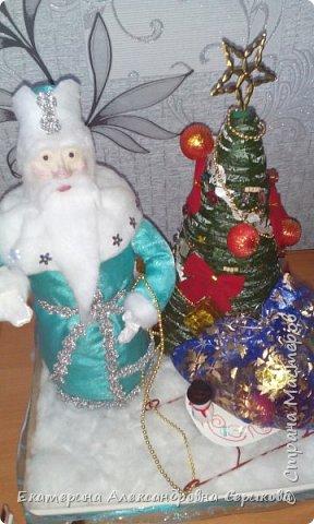 Дед мороз поздравляет Вас с Наступающим Новым Годом! Желает вам счастья, здоровья, креативных идей. фото 1