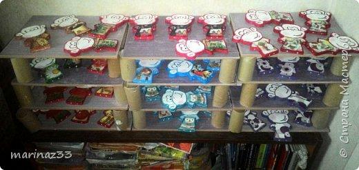 Добрый день!!! В этом году у меня получились вот такие новогодние сувениры.  45 обезьянок. фото 6