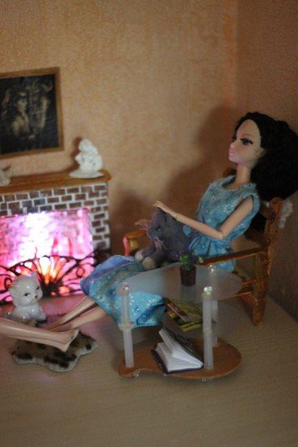 Соня Лиде в подарок на Новый год заказала камин. фото 2