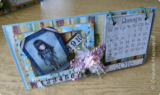 Добрый  день, страна!   Сегодня  я  с  новыми  настольными  календарями,  подарками  к  НГ.  Покажу  некоторые  из  них,  многие  уже  разошлись ,  народ  запасается  подарочками  друзьям и коллегам  к  новому  году...  Вот  этот  мне  очень  нравится,  наверное  оставлю  себе, любимой... фото 4