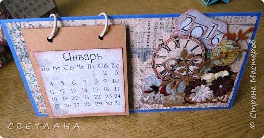 Добрый  день, страна!   Сегодня  я  с  новыми  настольными  календарями,  подарками  к  НГ.  Покажу  некоторые  из  них,  многие  уже  разошлись ,  народ  запасается  подарочками  друзьям и коллегам  к  новому  году...  Вот  этот  мне  очень  нравится,  наверное  оставлю  себе, любимой... фото 5