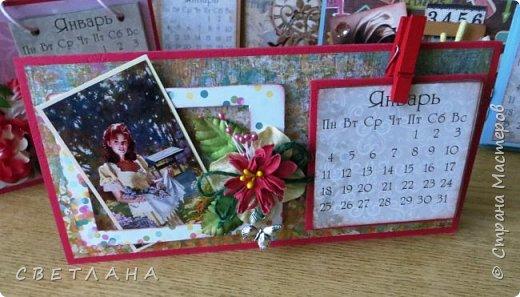 Добрый  день, страна!   Сегодня  я  с  новыми  настольными  календарями,  подарками  к  НГ.  Покажу  некоторые  из  них,  многие  уже  разошлись ,  народ  запасается  подарочками  друзьям и коллегам  к  новому  году...  Вот  этот  мне  очень  нравится,  наверное  оставлю  себе, любимой... фото 6
