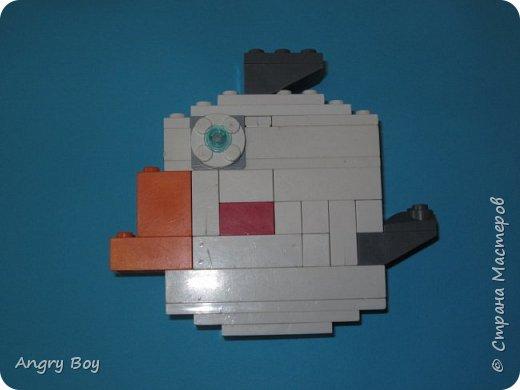 Angry Birds из конструктора Lego. фото 7