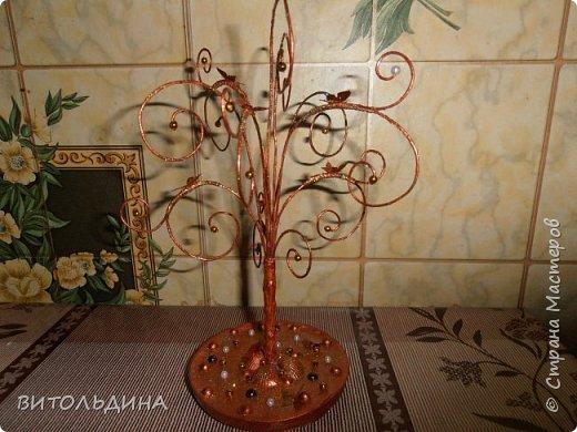 Деревце-подставка для украшений фото 1
