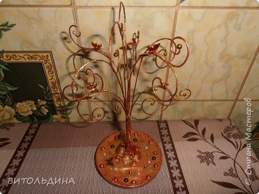 Деревце-подставка для украшений фото 3