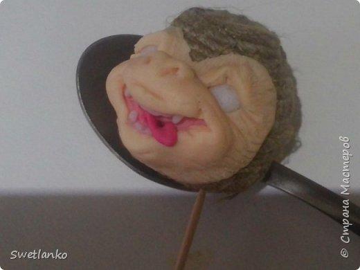 Предлагаю сделать такую кофейную обезьянку, совместив намотку джутовым шпагатом с кофе и лепкой. фото 17
