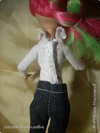 Здравствуй, Страна Мастеров! Продолжаю выкладывать обновки для кукол.  Стала замечать что, у каждой куклы свой характер. И позируют только в своих определённых позах, пыталась поставить Лагуну в другие позы брыкается, с леди также история.  фото 9
