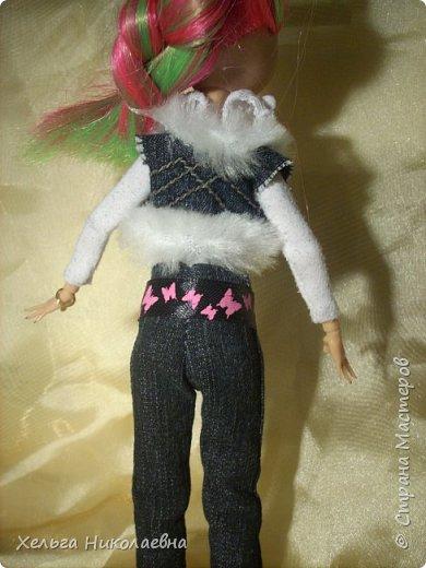 Здравствуй, Страна Мастеров! Продолжаю выкладывать обновки для кукол.  Стала замечать что, у каждой куклы свой характер. И позируют только в своих определённых позах, пыталась поставить Лагуну в другие позы брыкается, с леди также история.  фото 7