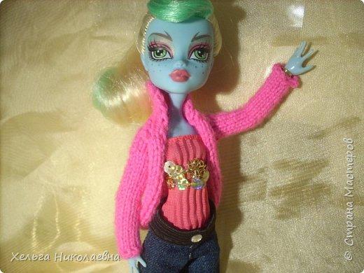 Здравствуй, Страна Мастеров! Продолжаю выкладывать обновки для кукол.  Стала замечать что, у каждой куклы свой характер. И позируют только в своих определённых позах, пыталась поставить Лагуну в другие позы брыкается, с леди также история.  фото 3