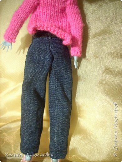 Здравствуй, Страна Мастеров! Продолжаю выкладывать обновки для кукол.  Стала замечать что, у каждой куклы свой характер. И позируют только в своих определённых позах, пыталась поставить Лагуну в другие позы брыкается, с леди также история.  фото 5
