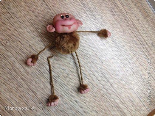 Здравствуйте ,Страна Мастеров! Решила попробовать сделать первый МК обезьянки по просьбам некоторых посетителей моего блога. Не судите слишком строго,если не всё понятно будет. фото 23