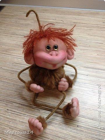 Здравствуйте ,Страна Мастеров! Решила попробовать сделать первый МК обезьянки по просьбам некоторых посетителей моего блога. Не судите слишком строго,если не всё понятно будет. фото 24