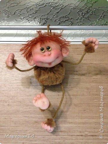 Здравствуйте ,Страна Мастеров! Решила попробовать сделать первый МК обезьянки по просьбам некоторых посетителей моего блога. Не судите слишком строго,если не всё понятно будет. фото 25