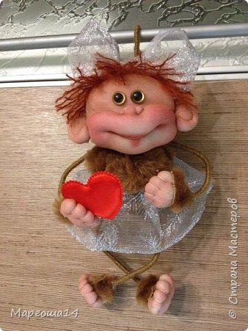 Здравствуйте ,Страна Мастеров! Решила попробовать сделать первый МК обезьянки по просьбам некоторых посетителей моего блога. Не судите слишком строго,если не всё понятно будет. фото 26