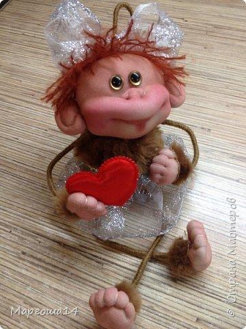Здравствуйте ,Страна Мастеров! Решила попробовать сделать первый МК обезьянки по просьбам некоторых посетителей моего блога. Не судите слишком строго,если не всё понятно будет. фото 27