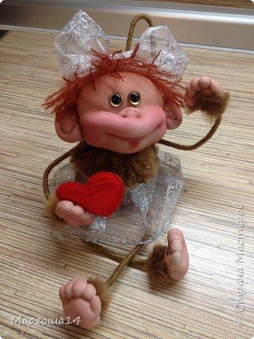 Здравствуйте ,Страна Мастеров! Решила попробовать сделать первый МК обезьянки по просьбам некоторых посетителей моего блога. Не судите слишком строго,если не всё понятно будет. фото 1