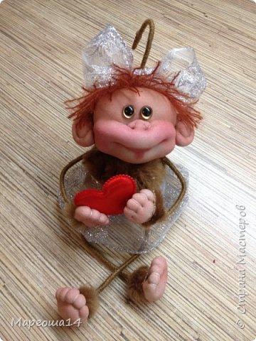 Здравствуйте ,Страна Мастеров! Решила попробовать сделать первый МК обезьянки по просьбам некоторых посетителей моего блога. Не судите слишком строго,если не всё понятно будет. фото 28