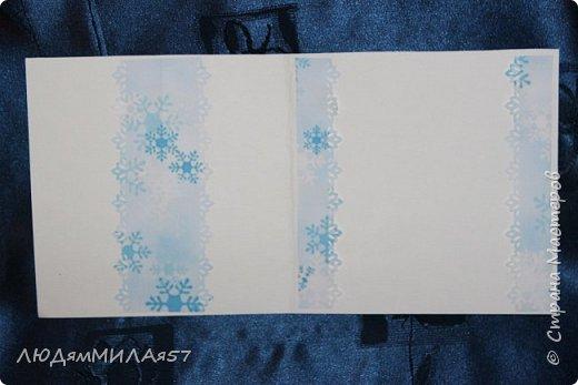 Здравствуй,Страна Мастеров! У меня рождественские открытки с рамочками. фото 11