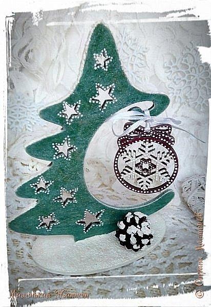 Добрый вечер, дорогие жители прекрасной и дружной Страны Мастеров!  В детстве мы все с нетерпением ждали Нового Года, загадывали желания и верили в чудо... Сейчас мы уже взрослые и все также верим в волшебство новогодней ночи и исполнение наших самых сокровенных желаний.  Хотя зима у нас только по календарю, а погода напоминает осень, предлагаю окунуться в зимнюю сказку.   фото 16