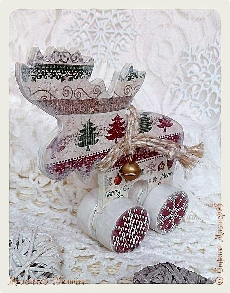Добрый вечер, дорогие жители прекрасной и дружной Страны Мастеров!  В детстве мы все с нетерпением ждали Нового Года, загадывали желания и верили в чудо... Сейчас мы уже взрослые и все также верим в волшебство новогодней ночи и исполнение наших самых сокровенных желаний.  Хотя зима у нас только по календарю, а погода напоминает осень, предлагаю окунуться в зимнюю сказку.   фото 7