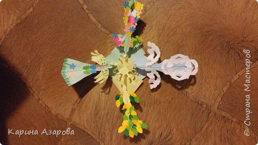 """Здравствуйте! Сегодня я сделала ещё 2 мандалы.  Это мандалы """"Времена года"""", здесь 4 птицы одна Весна, одна Лето, одна Осень и одна Зима. фото 2"""
