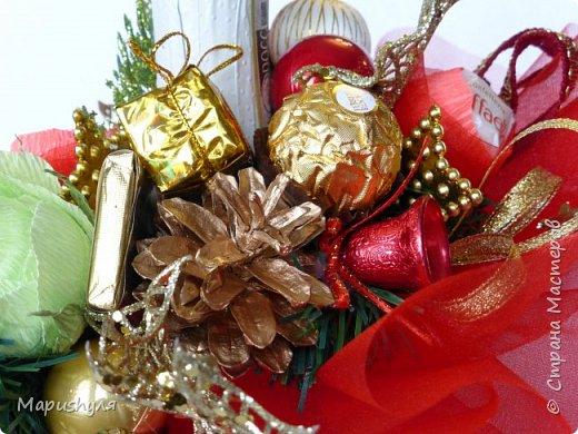 Здравствуйте, дорогие жители Страны! Сегодня хочу показать работы к Новому году. Начну, пожалуй, с бутылочки новогоднего напитка. фото 5