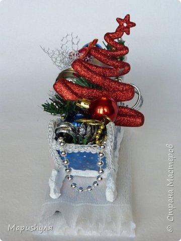 Здравствуйте, дорогие жители Страны! Сегодня хочу показать работы к Новому году. Начну, пожалуй, с бутылочки новогоднего напитка. фото 18