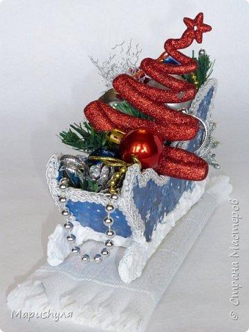 Здравствуйте, дорогие жители Страны! Сегодня хочу показать работы к Новому году. Начну, пожалуй, с бутылочки новогоднего напитка. фото 20